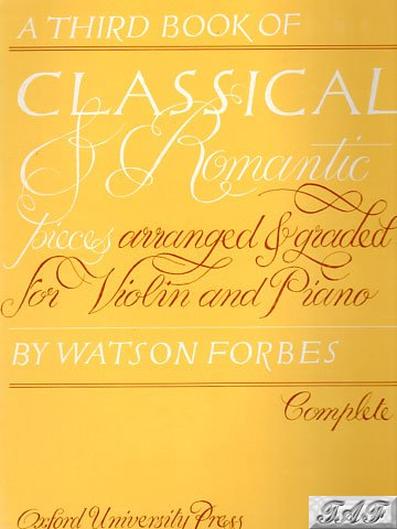 Classical and Romantic Pieces third book