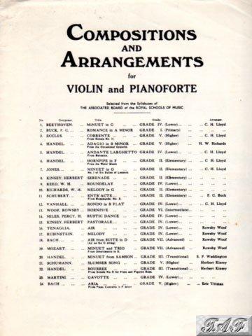 Corrente from Sonata No 11