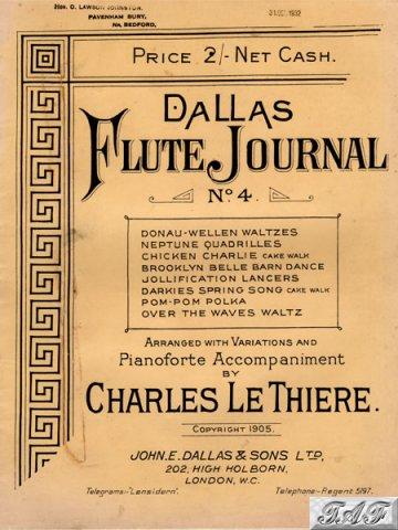 Dallas Flute Journal no 4