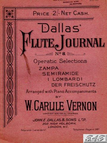 Dallas Flute Journal no 8