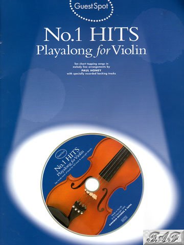 Guest Spot No 1 Hits Playalong for Violin arr P Honey