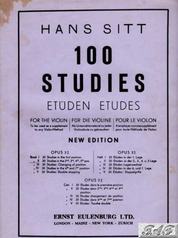 100 studies for violin