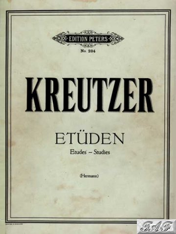 Kreutzer Etuden