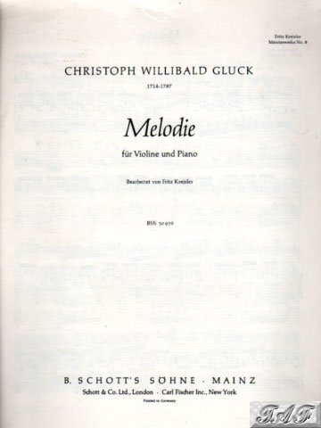 Melodie for Piano and Violin
