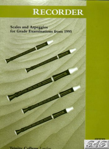 Recorder Scales and Arpeggios G1 to 8