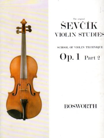 Sevcik Violin Studies Op 1 part 2 Bosworth