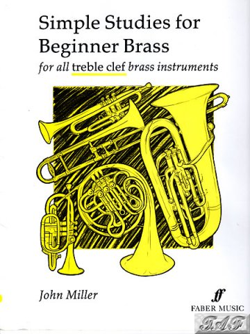 Simple Studies for Beginner Brass by John Miller