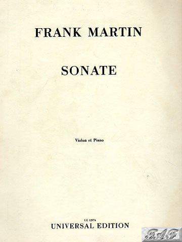 Sonate Violon et Piano