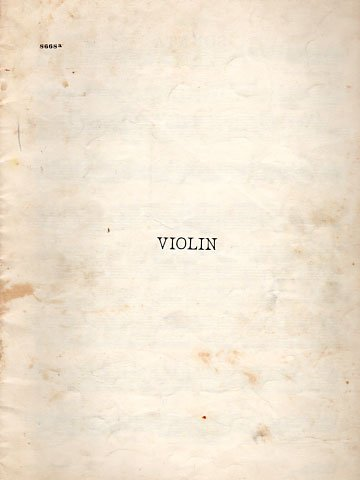 Violin Sonatas in A and G minor and F