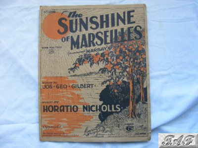 The sunshine of marseilles