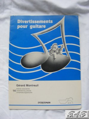 Divertissements pour guitare