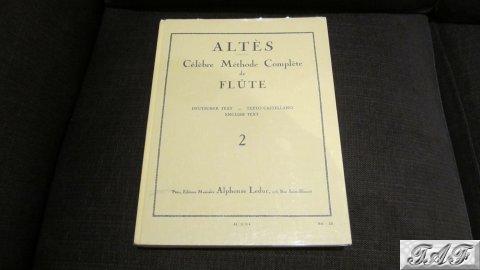 Altes – Celebre Methode Complete de Flute Volume 2 (hardback)
