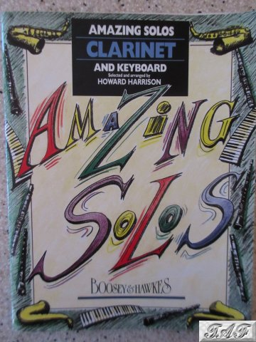 Amazing Solos for Clarinet & Keyboard