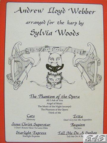 Andrew Lloyd Webber Arranged for the harp