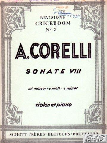 Sonate VIII in E minor