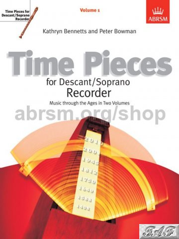 Time pieces for decant/soprano recorder, volume 1
