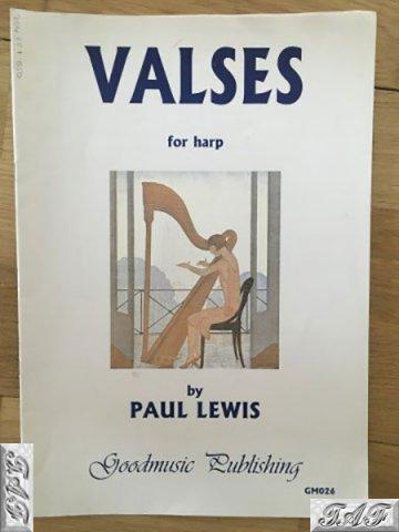 Valses for Harp
