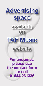 Contact TAF Music to advertise on this page