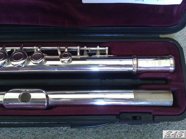 Recently serviced yamaha 211 flute item mi 100439 for for Yamaha yfl225s flute sale