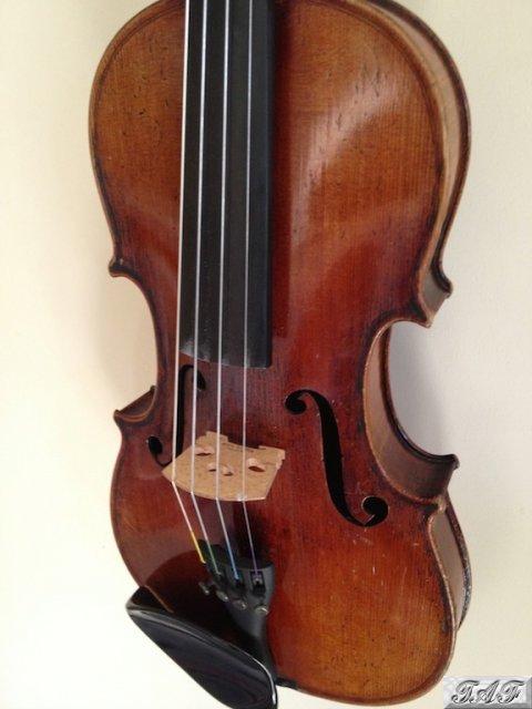 lowendahl three quarter size german violin item mi 100355 for sale on sellmyviolin. Black Bedroom Furniture Sets. Home Design Ideas