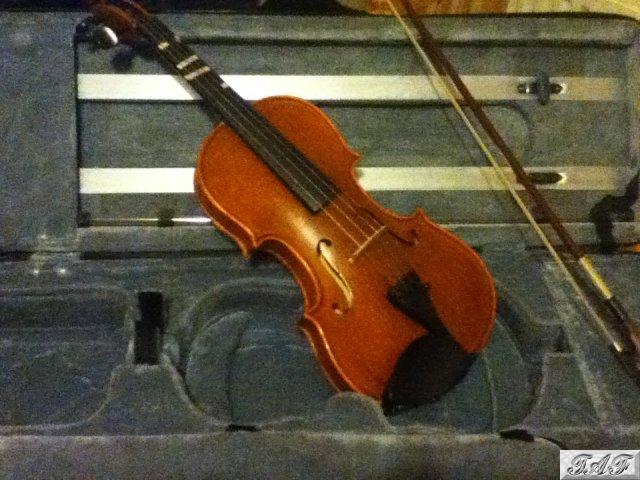 three quarter size stentor conservatoire violin item mi 100383 for sale on sellmyviolin. Black Bedroom Furniture Sets. Home Design Ideas