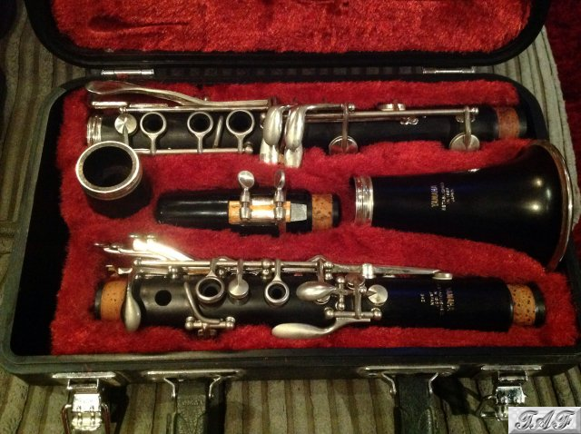 Yamaha 34ii wooden clarinet item mi 100599 for sale on for Yamaha yfl225s flute sale