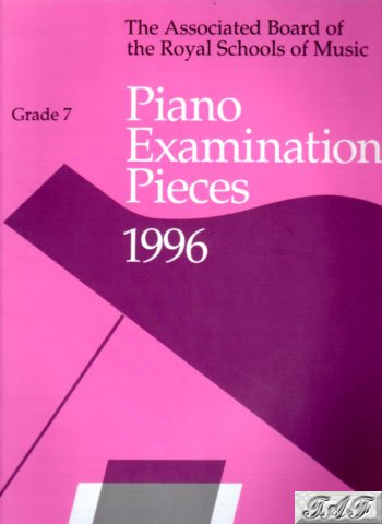 ABRMS Piano Exam Pieces Grade 7 1996