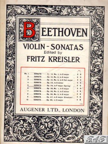 Beethoven Violin Sonata