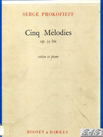 Cinq Melodies