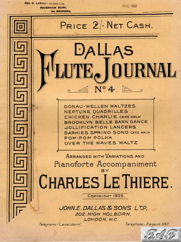 Dallas Flute Journal no 4