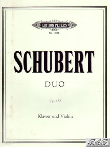 Duo for Piano and Violin