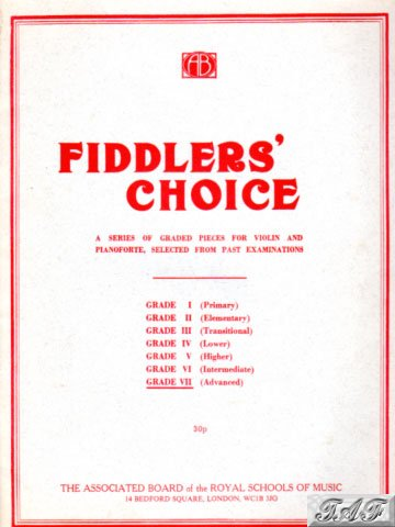 Fiddlers Choice Grade VII