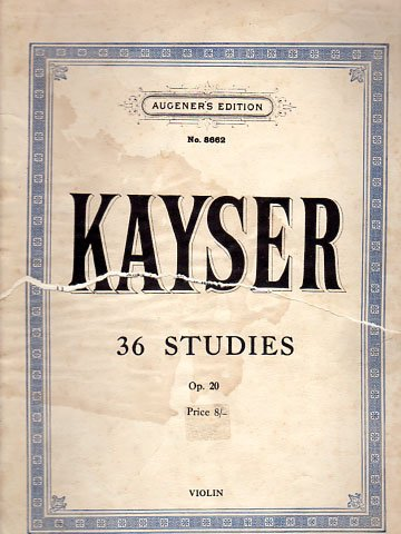 Kayser Violin Studies