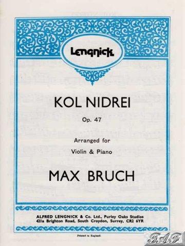 Kol Nidrei op 47 for violin
