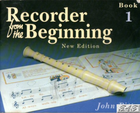 Pitts Recorder from the Beginning Book 1