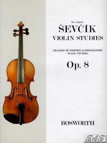 Sevcik violin studies op 8