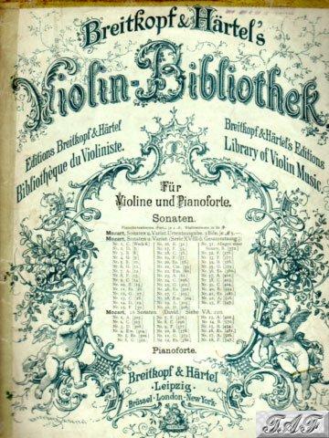 Sonata for Violin and Piano in E Minor