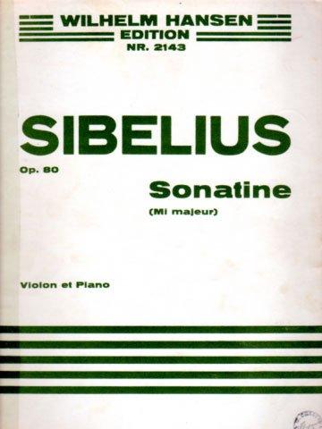 Sonatina for Violin and Piano in E Minor