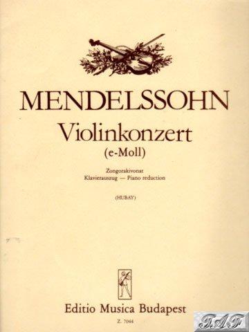 Violin Concerto in E Minor Op 64