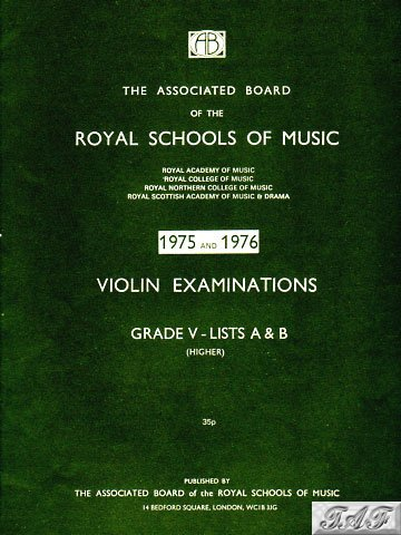 Violin Exam Pieces Grade 5