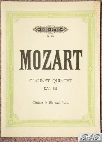 Clarinet Quintet K.V.581