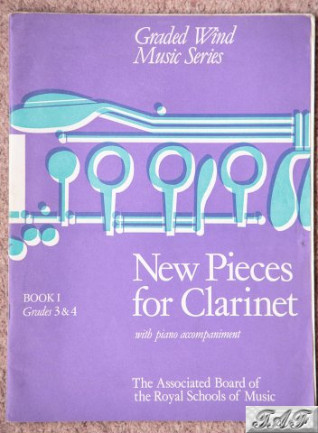 New Pieces for Clarinet with piano accompaniment