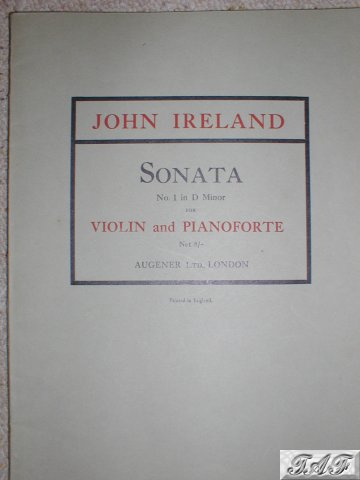 Sonata No 1 in D Minor