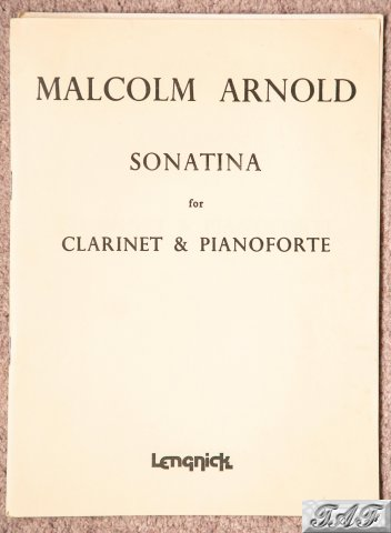 Sonatina for Clarinet and Pianoforte