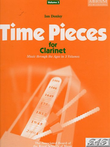 Time pieces for clarinet volume 3